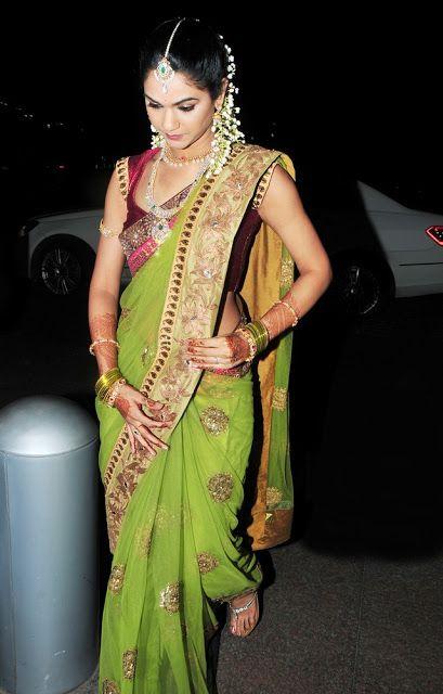 South Indian Bride, via Beauty Care Blog
