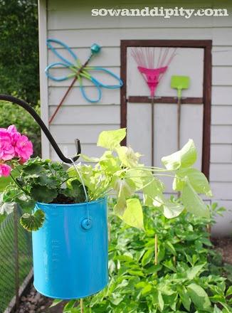 Garden Junk Art - Sow & Dipity