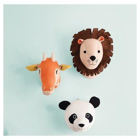 Lion Head Wall D Cor Pillowfort Teen Playroomanimal