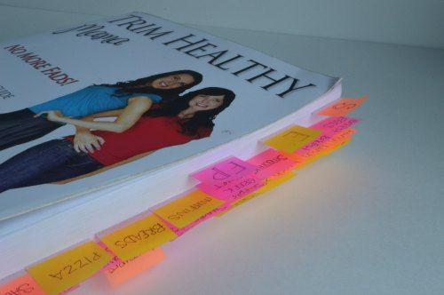How to Flag Your Trim Healthy Mama Book   RaisingArrows.net