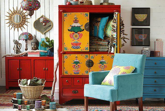 Mueble Tíbet 105x50x170 cm | Homy