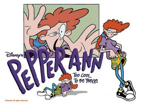 Ha! I remember Pepperann! Saw a couple if episodes, wasn't a huge fan though