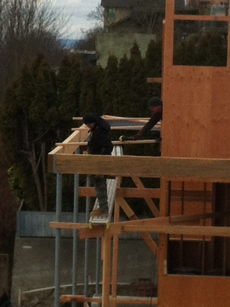 Installing deck beams