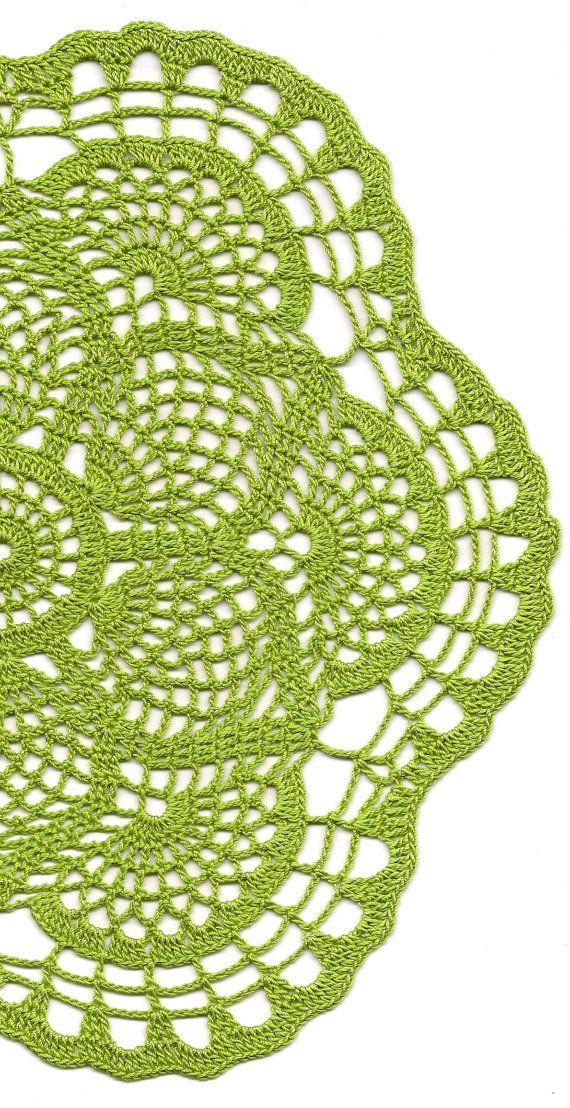 Christmas gift Crochet doily lace doily Christmas by DoilyWorld More