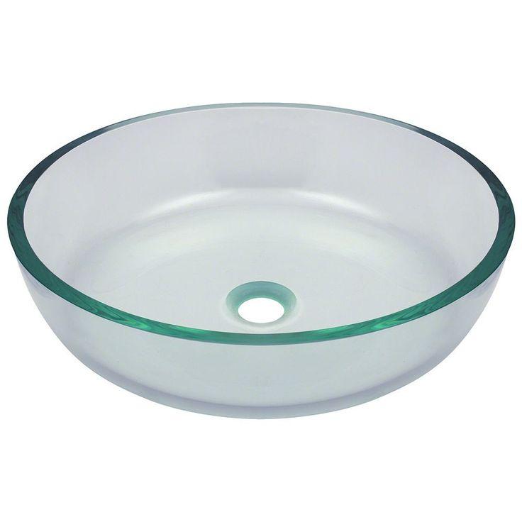 The Polaris Sinks P526 Brushed Nickel Bathroom Ensemble (Glass Ensemble),  Silver, Size
