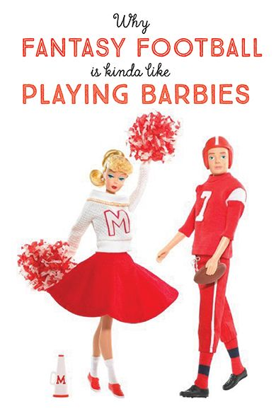 """Have you ever wondered what the heck is going on in those elusive """"Fantasy Football"""" leagues? Are there unicorns involved? Wizards? Nope, but it might just remind you of playing with Barbies when you were a kid! Find out why on Chick 101-Football for Girls! You can also learn the rules, positions and more!"""