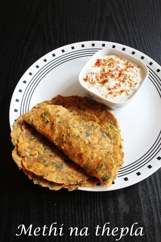 Methi Thepla Recipe   How to make Gujarati methi na thepla