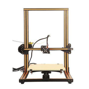 Creality 3D® CR-10 DIY 3D Printer Kit 300*300*400mm Printing Size 1.75mm 0.4mm Nozzle Sale - Banggood.com