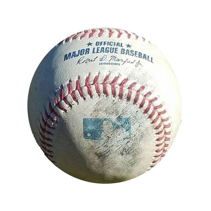 2016 Philadelphia Phillies Game-Used Baseball Thrown By Vince Velasquez