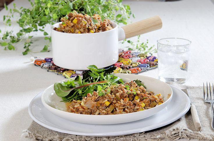 Mexikansk gryte med ris