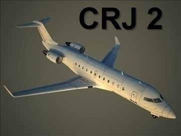 Bombardier CRJ 2 3D Model-   Bombardier CRJ-2.Vertion of .max files - 2009.Lod0: 136225561473 (polygons, triangles, vertexes)Lod1: 8911572921 (polygons, triangles, vertexes)Lod2: 391648448 (polygons, triangles, vertexes)Including textures (4 total):2 x Abelag Aviation, day and night2 x without airlines, day and night (here you can add your airlines)Bombardier Aerospace is a division of Bombardier Inc. It is the third-largest aircraft company in the world in terms of yearly delivery of…