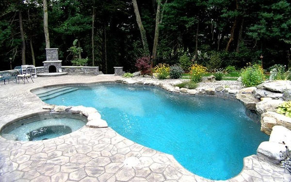 Swimming pool ideas curated by aqua trends pool spa for Pool design kelowna