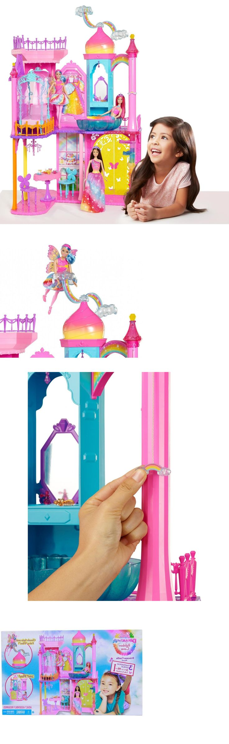 Other Classic Toys 19027: Young Girls Toys Playhouse Dolls Children Game Barbie Princess Castle Playset -> BUY IT NOW ONLY: $71.17 on eBay!
