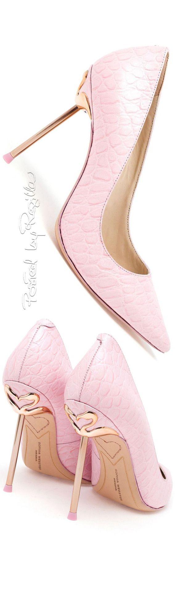 Fashion Shoes | Color Desire Pink *** | Rosamaria G Frangini || Regilla ⚜ Sophia Webster | Pink Shoes