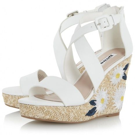 Beach Wedding Wedge Shoes