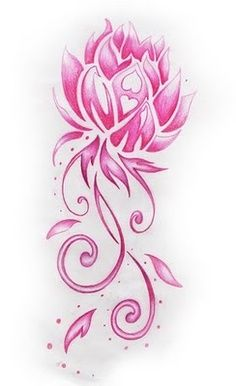 Lotus flower -this would be a beatiful tattoo