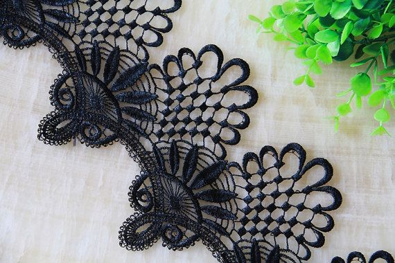 Width 7.87 inches wedding lace trim bridal lace trimflower