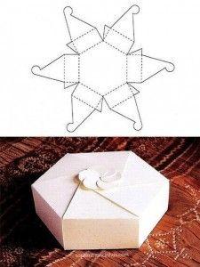 Moldes de Caixas - Modelos de Caixa de Papel 5