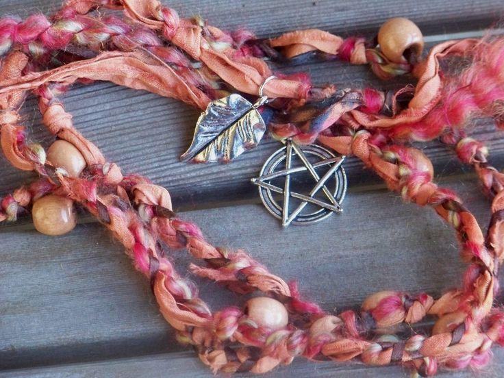 WITCHCRAFTS Artisan Alchemy: HARVEST BOUNTY Witch's Altar Ladder / Handfasting Cord