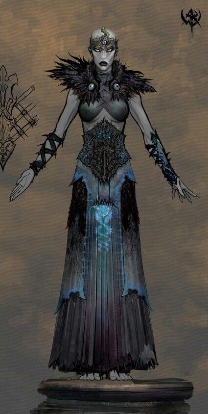 Female Chaos Zealot - Warhammer Fantasy