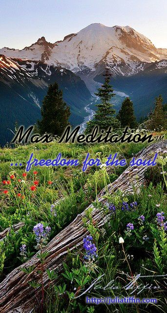 Max MeditationTM combines a full spectrum of meditation techniques for a truly revitalising experience. It uses breathing, deep-body relaxation, as well as passive, active and guided meditation. No experience is needed. Anyone, including practiced meditators, can experience the deep relaxation and rejuvenation with this system. http://juliatiffin.com  #returntothesacred