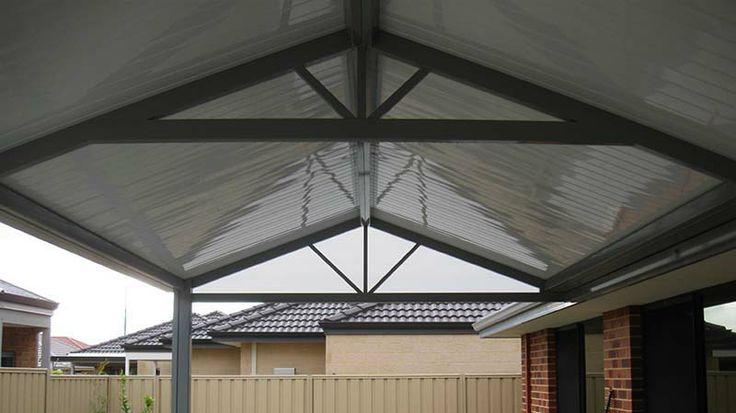 Flat Deck roofing, Modern styling.