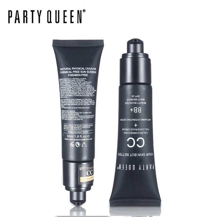 Partie Reine Anti-cernes Maquillage Minceur Visage Fondation CC Crème Hydratant Perfect Correcteur Couverture Complète Mat Fondation
