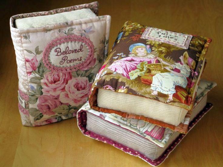 Books pillows