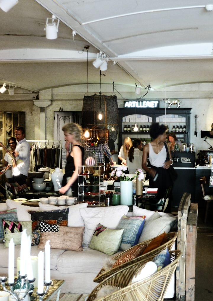 Artilleriet/Gothenburg – a treasure chest full of beautiful interior design.