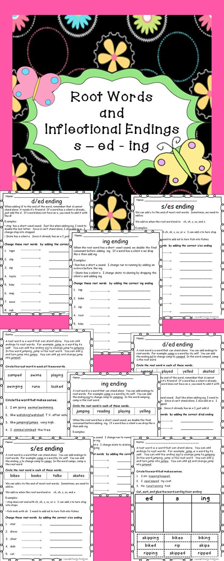 Best 20 inflectional endings ideas on pinterest phonics root words and inflectional endings seding robcynllc Gallery