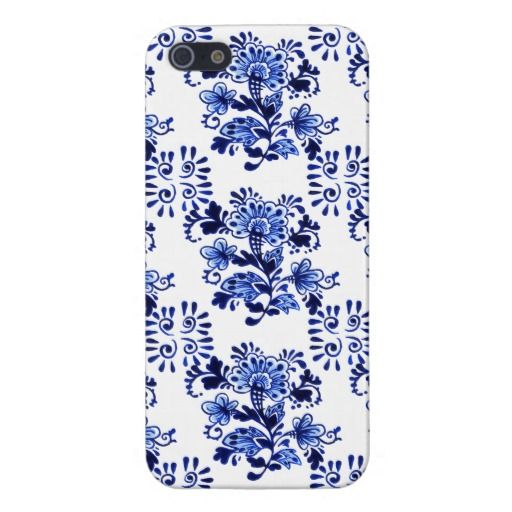 Trendy and pretty iPhone 5 case. Beautiful antique Dutch flower pattern design. For the collector of Delfts Blue pottery from the Netherlands, the hip trend setter, floral motif designer, vintage retro, nouveau art deco or traditional ceramics lover. Cute and fun gift for mom's birthday, Mother's day or Christmas. Classy and chic cover for the girly girl or elegant and sophisticated woman. Also available for Samsung S2 S3 and S4, iPhone 3 4 and 5C, Droid Razr, iPod Touch 4G 5G, iPad and…