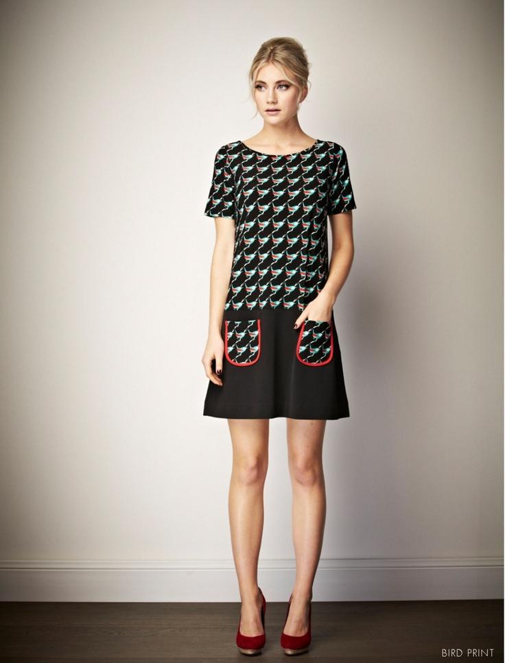 Leona Edmiston Tammy shift dress.  want want want