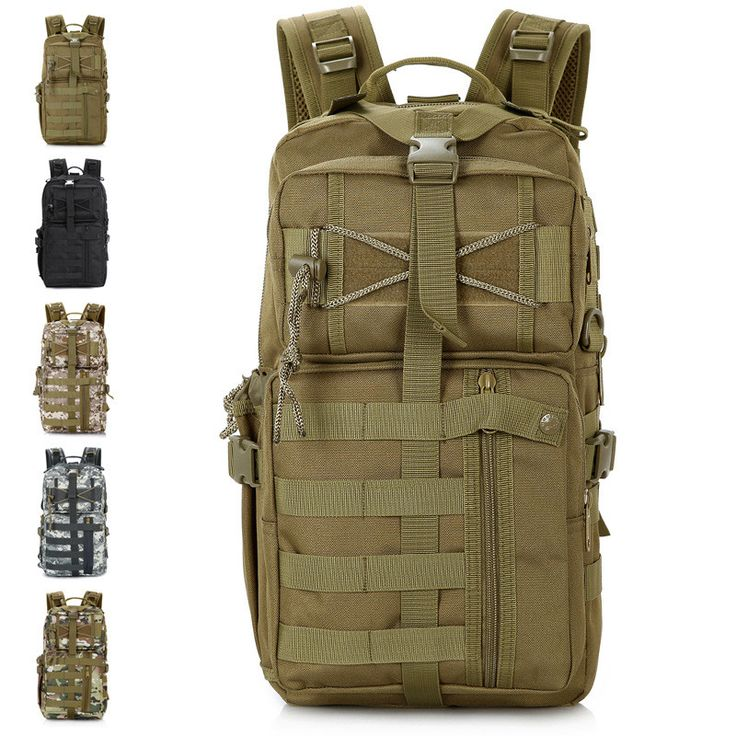 Outdoor Military Tactical Assault Backpack Molle System 3 day Life Saver Bug Out Bag Survival SWAT Police Carry - http://www.thebookandcranny.com/outdoor-military-tactical-assault-backpack-molle-system-3-day-life-saver-bug-out-bag-survival-swat-police-carry/