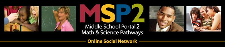 Middle School Portal2 Math and Science Pathways: A science and math network they have great webinars on current topics: NGSS, Common Core, technology etc... also site for great resources