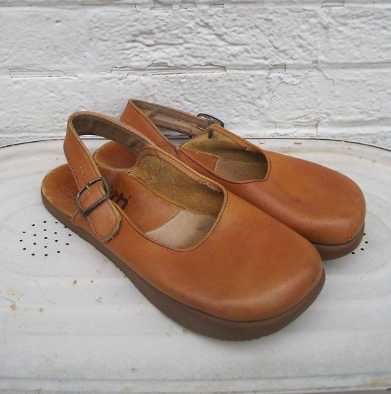 70s Earth shoes vintage Earth shoes Kalso by SelvedgeFineVintage
