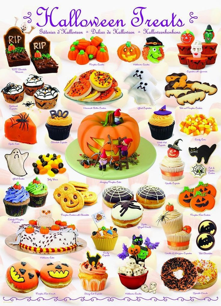 Culinary Favorites From A to Z: Halloween Treats Jigsaw Puzzle