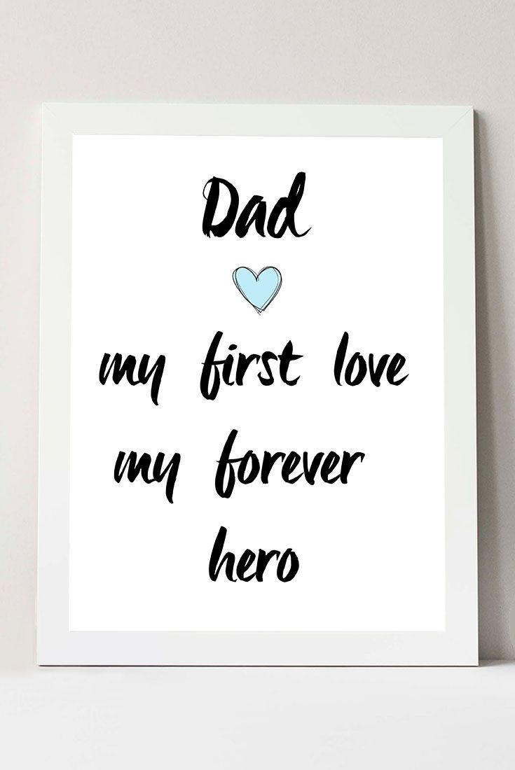 Happy Fathers Day Printable Printable Fathers Day Cards Father Day Gifts from Daughter Dad My First Love... Instant Download  sc 1 st  Pinterest & Happy Fathers Day Printable Printable Fathers Day Cards Father Day ...