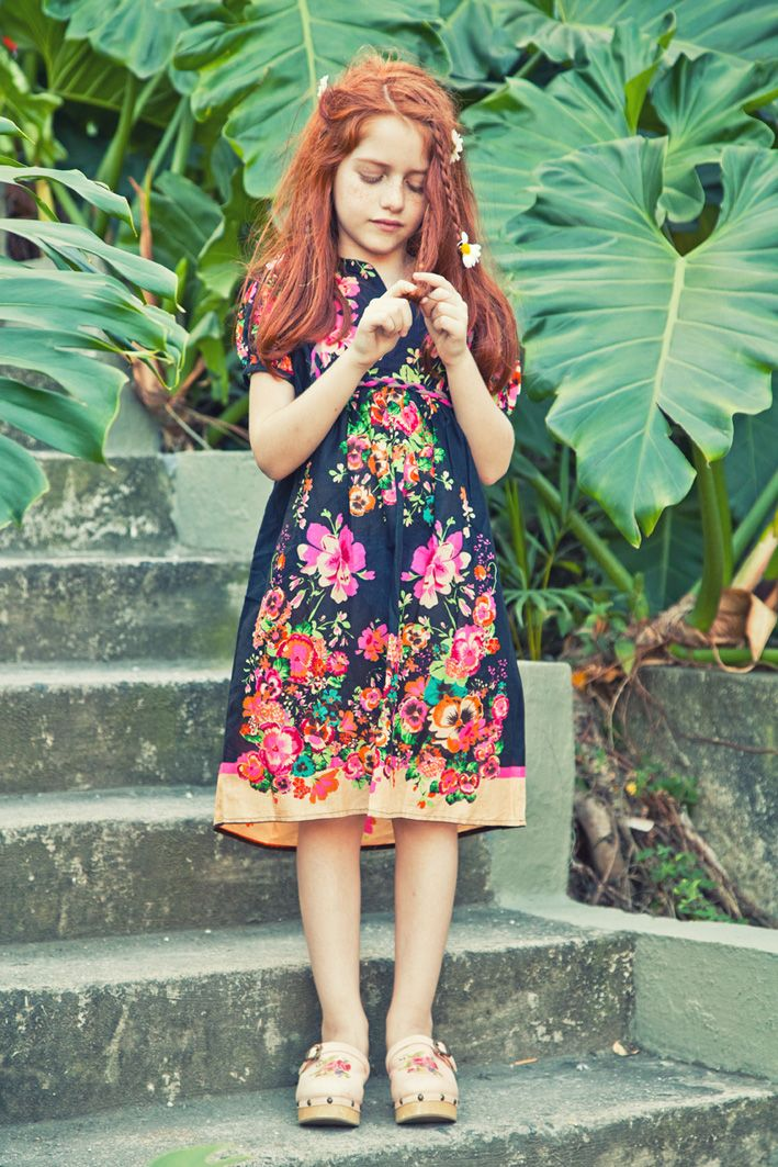 Verão 2013: Spring Dresses, Kids Style, Kids Fashion, Red Hair Kids, Girls Fashion, Baby Clothing, The Dresses, Kids Clothing, Floral Dresses