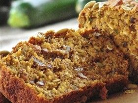 "Pumpkin-Banana-Zucchini Loaf (March 2012 Newsletter) This ""everything-but-the-kitchen-sink"" loaf is super-moist and delicious, yet not overly sweet."