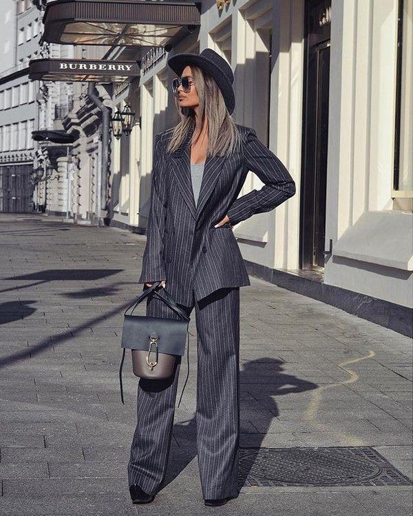 ed8cb0639bed Офисная мода 2018-2019 года  модные деловые луки, деловой стиль одежды, фото