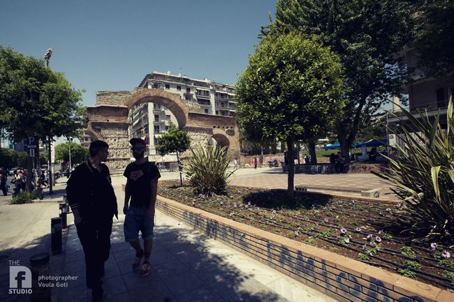 #kamara sightseeing in color #skg #thessaloniki