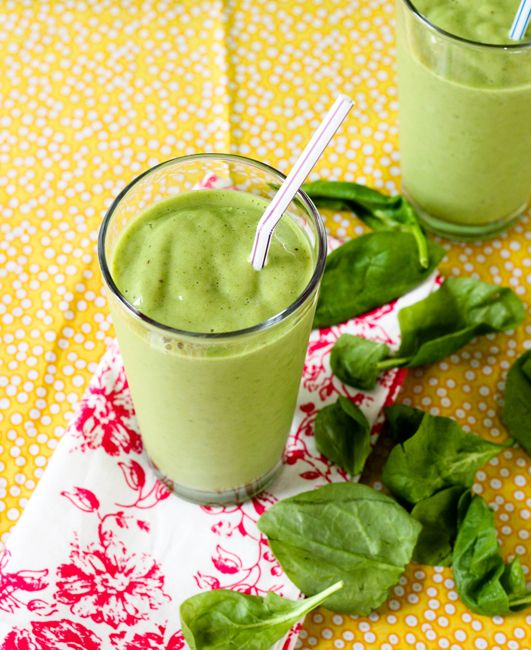 Green Monster Smoothie - great way to kick off the new year!