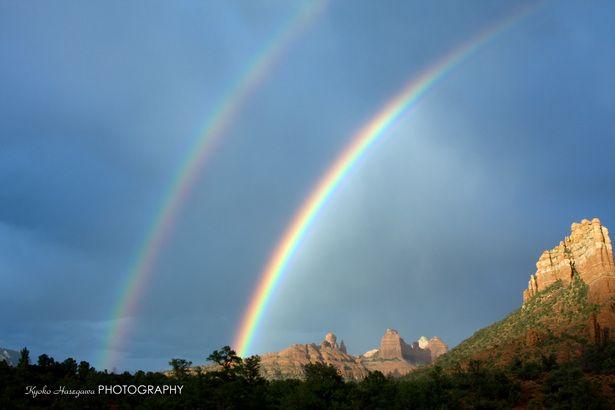 セドナの虹