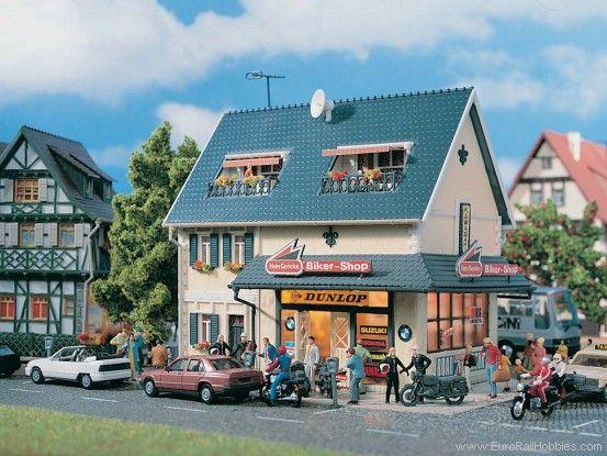 Vollmer 3666 Biker Shop