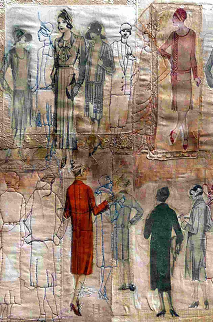 Zakdoekkunst in Museum de Kantfabriek