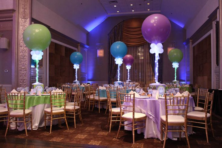 Lavender Lime Green Amp Turquoise Themed Bat Mitzvah With