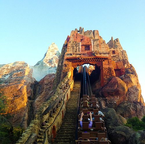 Reaching new Heights - Expedition Everest in the Animal Kingdom at Walt Disney World #Rollercoaster