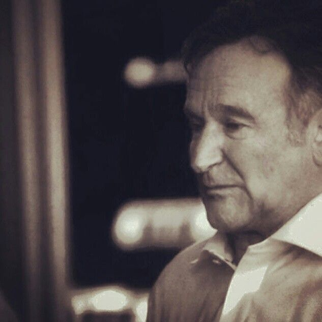 Robin Williams. What's in his mind?