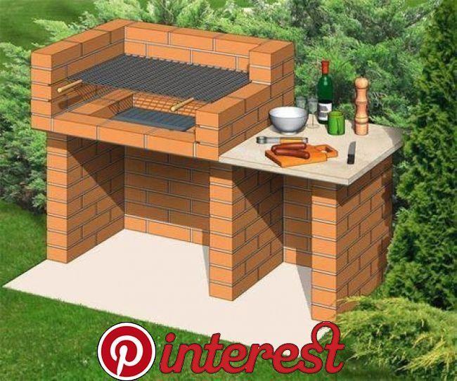 25 Best Diy Backyard Brick Barbecue Ideas Terassenentwurf
