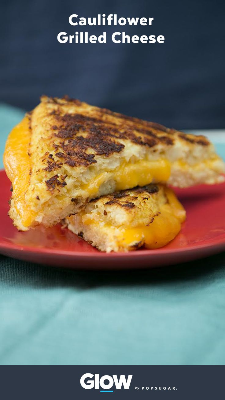 The classic grilled cheese just got a healthy makeover. Make this easy cauliflower grilled cheese at home.